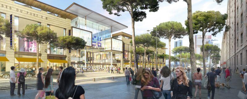 Nouveau centre commercial marseille 13002 les terasses du - Les terrasses du port marseille centre commercial ...