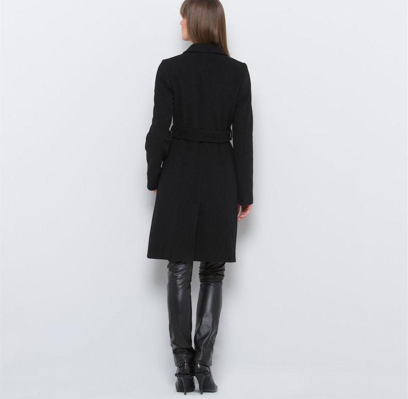 Manteau mi long d 39 hiver femme en velours de laine guide - Velours de laine ameublement ...
