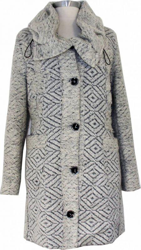 manteau tendance jacquard pour femme guide boutiques de. Black Bedroom Furniture Sets. Home Design Ideas