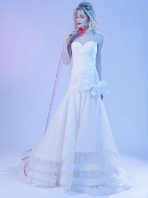 Robe de mariée Hervé Mariage Design 2015 - Guide boutiques de mode ...